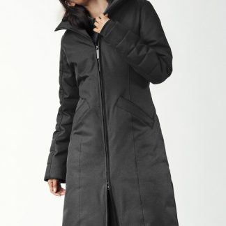 Excellent Red Black Canada Goose Lightweight Down Jackets