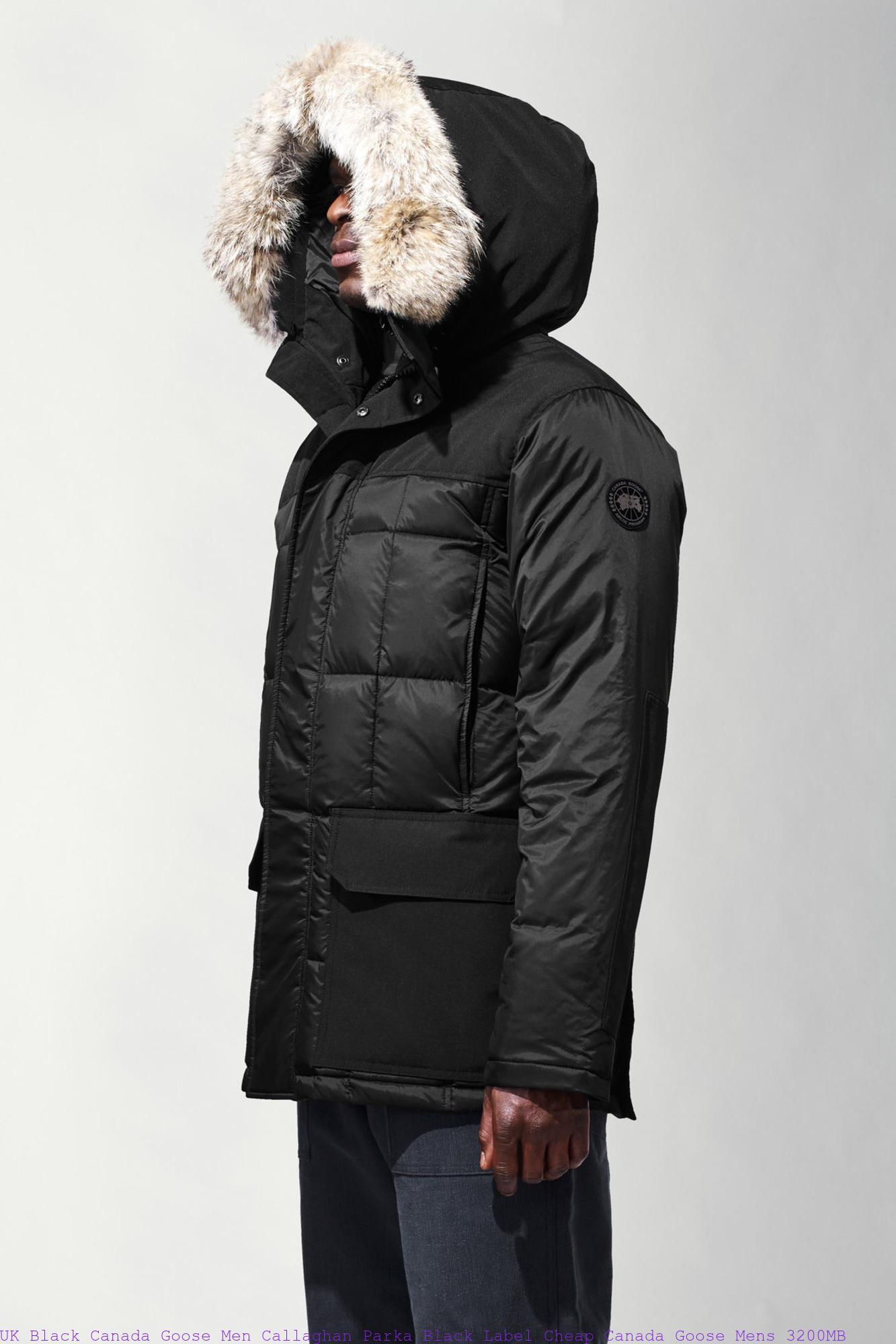 98265ee6340 UK Black Canada Goose Men Callaghan Parka Black Label Cheap Canada Goose  Mens 3200MB – Ordering Cheap Canada Goose® Outlet Online