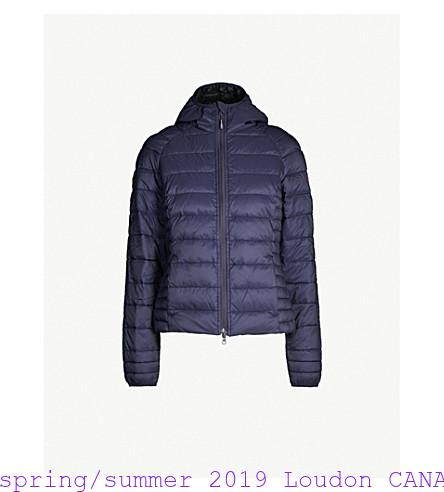 dbec2ba01 spring/summer 2019 Loudon CANADA GOOSE Brookvale quilted shell jacket  Canada Goose Outlet Store Montreal 5972784